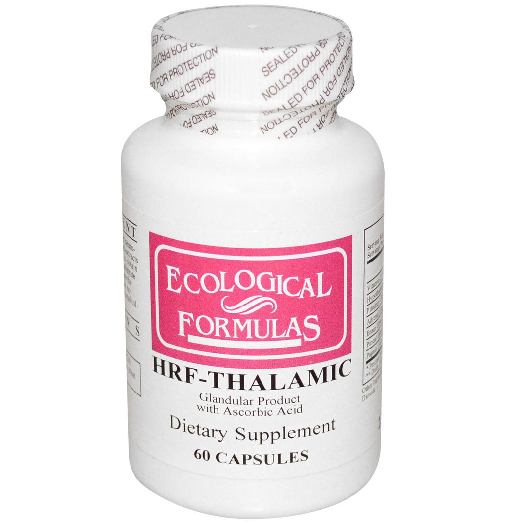 Cardiovascular Research Ltd., Ecological Formulas, HRF-Thalamic, 60 Capsules