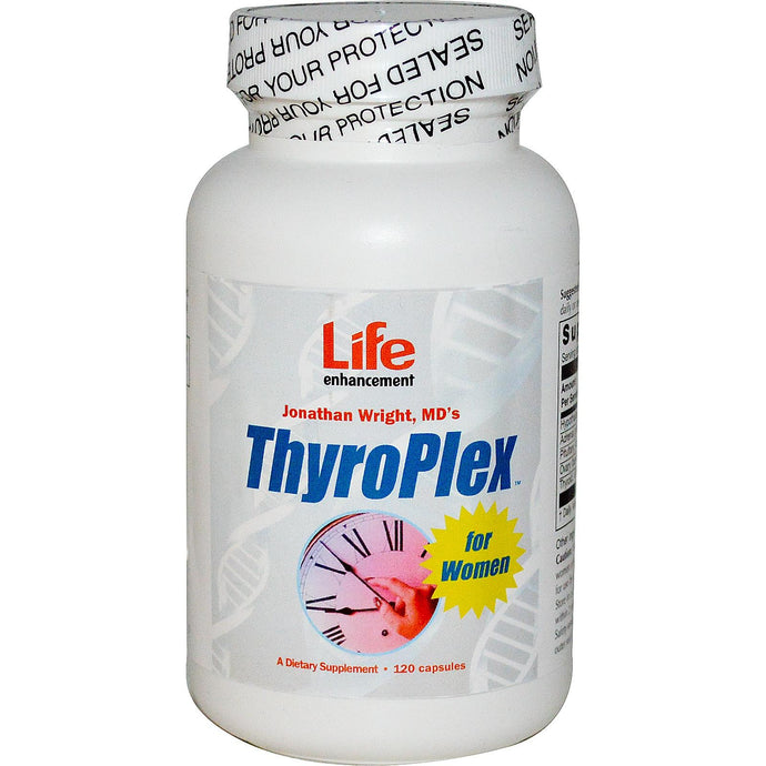Life Enhancement, ThyroPlex for Women, 120 Capsules