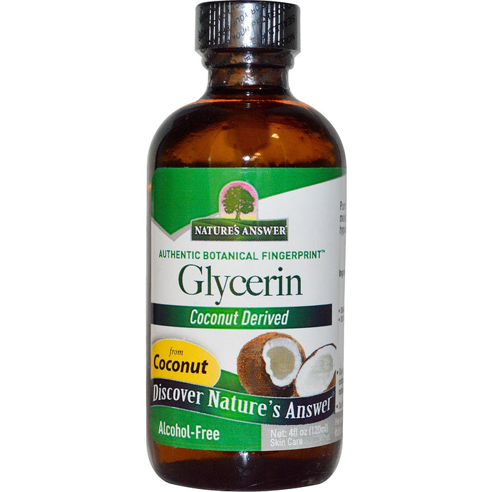 Nature's Answer, Glycerin, Alcohol-Free, 120 ml, 4 fl oz