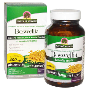 Nature's Answer Boswellia Standardised Joint & Muscle Function 90 VCaps