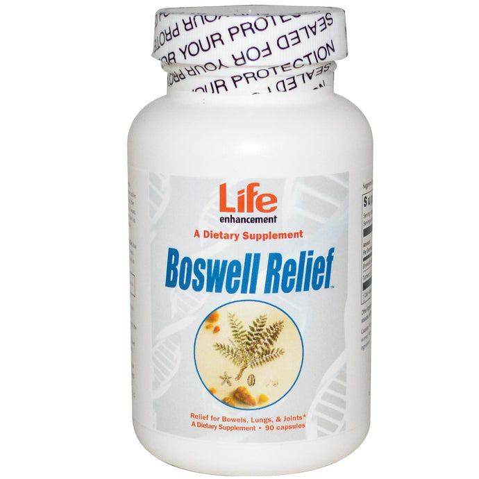 Life Enhancement, Boswell Relief, 90 Capsules