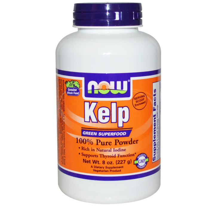 Now Foods, Kelp, Powder, 227 g, 8 oz ... VOLUME DISCOUNT