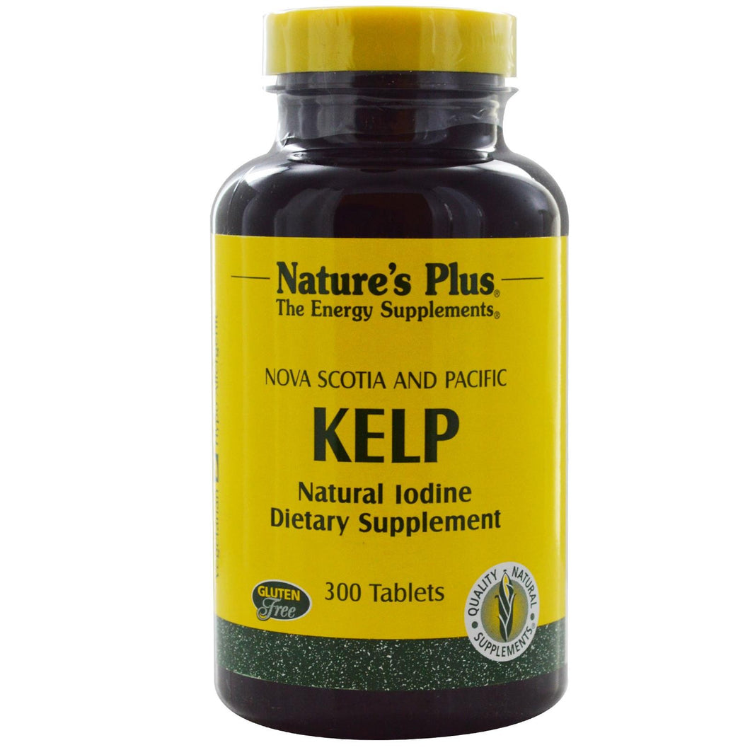 Nature's Plus, Kelp, 300 Tablets