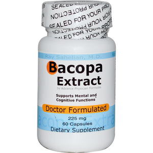 Advance Physician Formulas, Inc., Bacopa Extract, 225 mg, 60 Capsules
