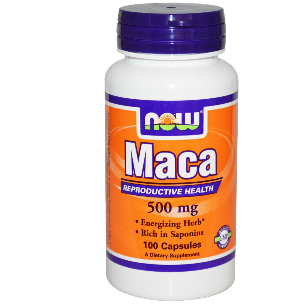 Now Foods, Maca, 500mg, 100 Capsules