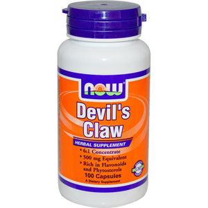 Now Foods, Devil's Claw, 500mg, 100 Caps