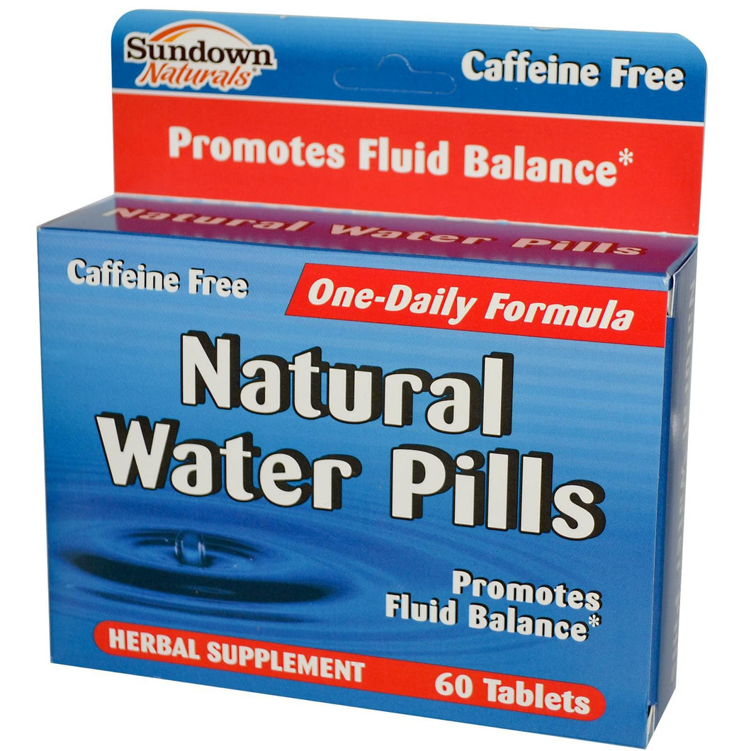 Natural Water Pills 60 Tablets