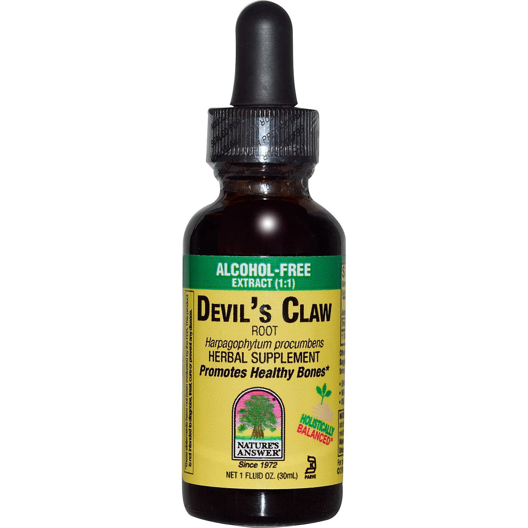 Nature's Answer, Devil's Claw Root, Alcohol-Free, 29.6 ml, 1 fl oz