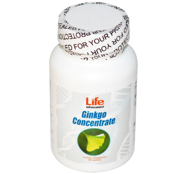 Life Enhancement Ginkgo Concentrate 90 Capsules - Dietary Supplement
