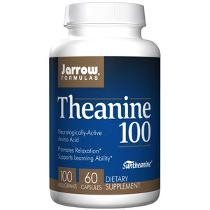 Jarrow Formulas, L-Theanine 100, 100mg, 60 VCaps ... VOLUME DISCOUNT