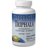 Planetary Herbals Triphala 1000 mg 180 Tablets - Herbal Supplement