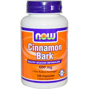 Now Foods, Cinnamon Bark, 600mg, 120 Capsules