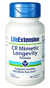 Life Extension CR (CRAN) Mimetic Longevity Formula 60 Veggie Caps