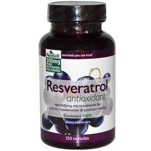Neocell Resveratrol Antioxidant 150 Capsules - Dietary Supplement