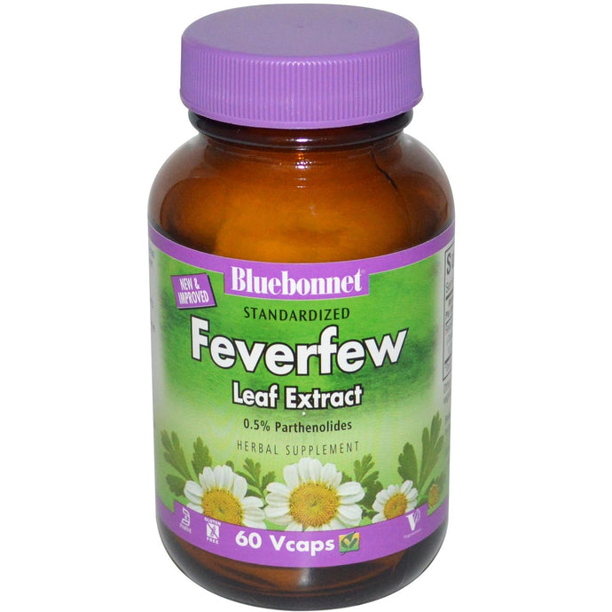 Bluebonnet Nutrition Feverfew Leaf Extract 60 VCaps