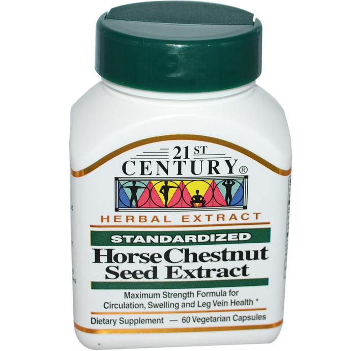 21st Century Health Care Horse Chestnut Seed Extract Standardised 60 VCaps