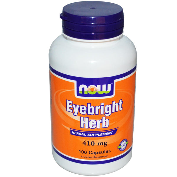 Now Foods, Eyebright Herb, 410 mg, 100 Capsules ... VOLUME DISCOUNT
