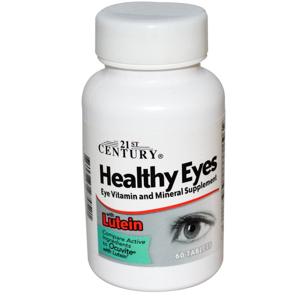 21st Century Healthy Eyes with Lutein 60 Tablets