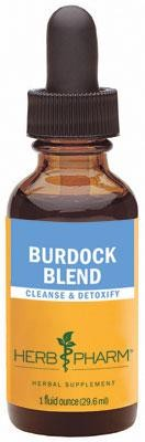 Herb Pharm Burdock Blend 29.6 ml 1 fl oz - Herbal Supplement
