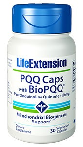Life Extension PQQ Caps with Bio PQQ 10mg - Dietary Supplement