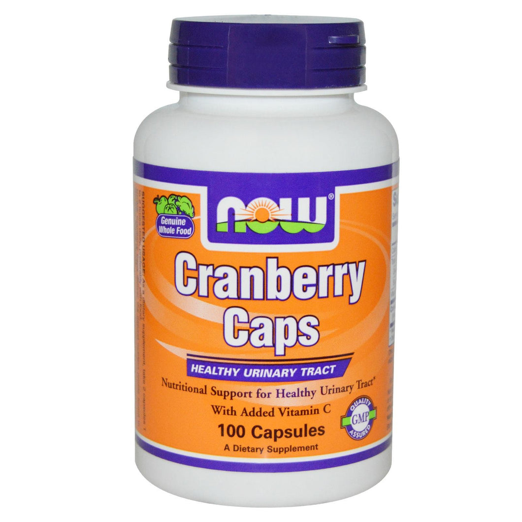Now Foods Cranberry Caps 100 Capsules - Dietary Supplement