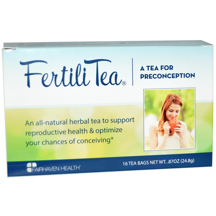 Fairhaven Health Fertili Tea for Women 16 Tea Bags 24.8 g 0.87 oz