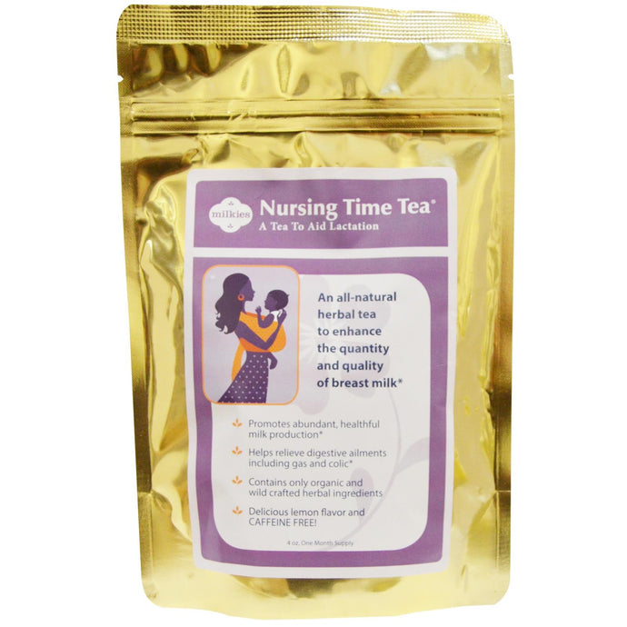 Fairhaven Health Nursing Time Tea Delicious Lemon Flavor Caffeine Free 4 oz