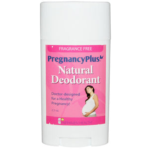 Fairhaven Health Pregnancy Plus Natural Deodorant Frangrance Free 2.5 oz for women