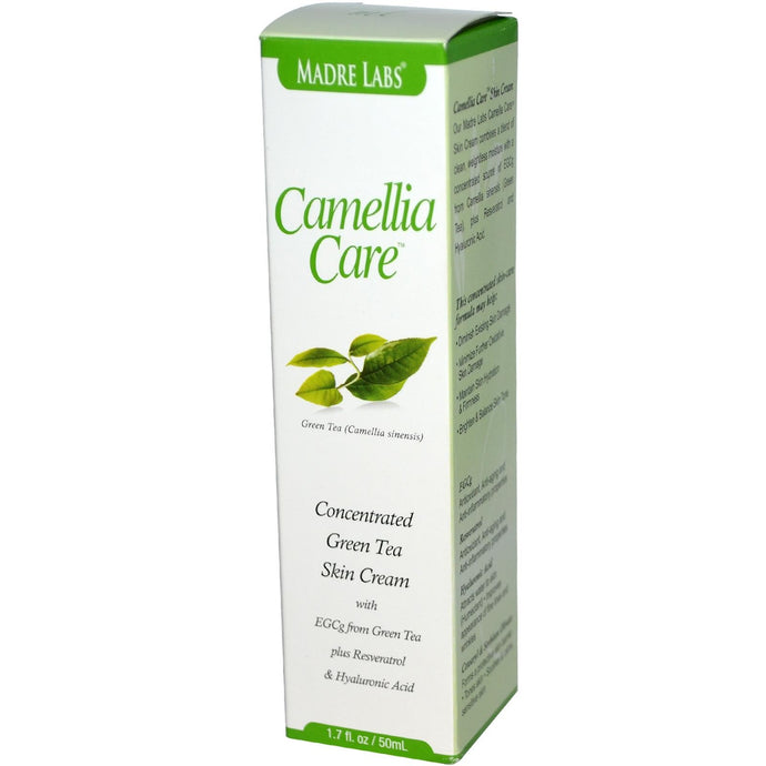 Madre Labs Camellia Care EGCG Green Tea Skin Cream 50 ml 1.7 fl oz