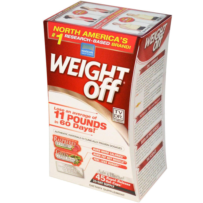 Wakunaga-Kyolic Weight Off 45 Rapid-Release Gel - Caps