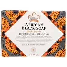 Load image into Gallery viewer, Nubian Heritage African Black Soap Bar 141 g - Vitamin Supplement
