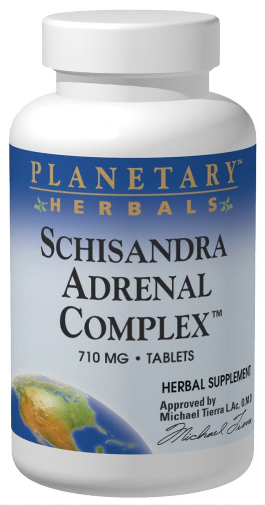 Planetary Herbals Schisandra Adrenal Complex 710 mg 120 Tablets