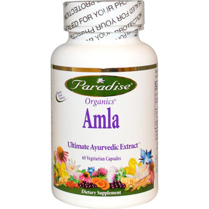 Paradise Herbs Amla Organic 60 Veggie Capsules - Dietary Supplement