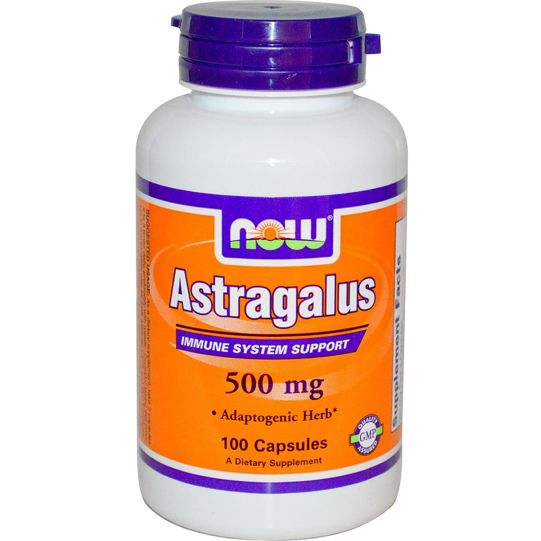 Now Foods Astragalus Immune System Support  500 mg 100 Capsules