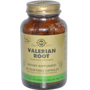 Solgar Valerian Root 100 Veggie Capsules - Dietary Supplement