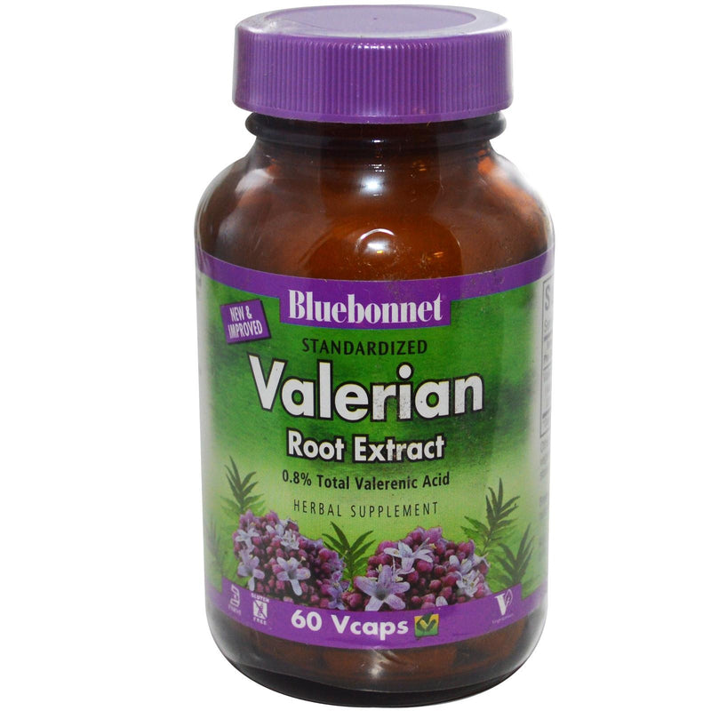 Bluebonnet Nutrition Valerian Root Extract 60 Veggie Capsules