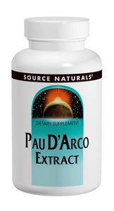 Source Naturals Pau D'Arco 500 mg 250 Tablets - Dietary Supplement