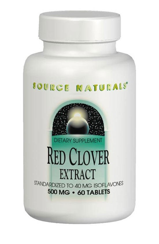 Source Naturals Red Clover Extract 500 mg 60 Tablets