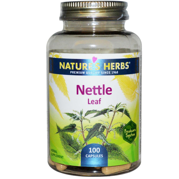 Nature's Herbs Nettle Leaf 100 Capsules - Herbal Supplement