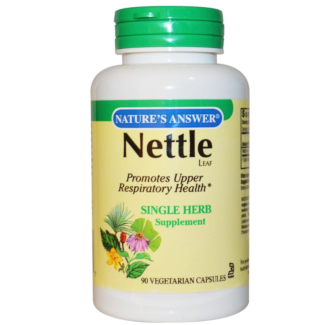 Nature's Answer Nettle Leaf 90 Veggie Capsules