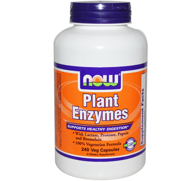 Now Foods, Plant Enzymes, 240 VCaps