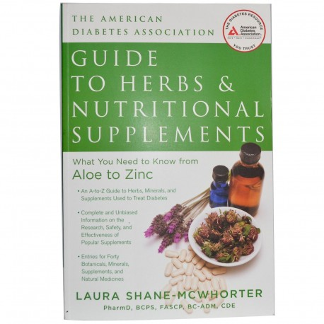 American Diabetes Association Guide to Health & Nutritional Supplements 191 Pages