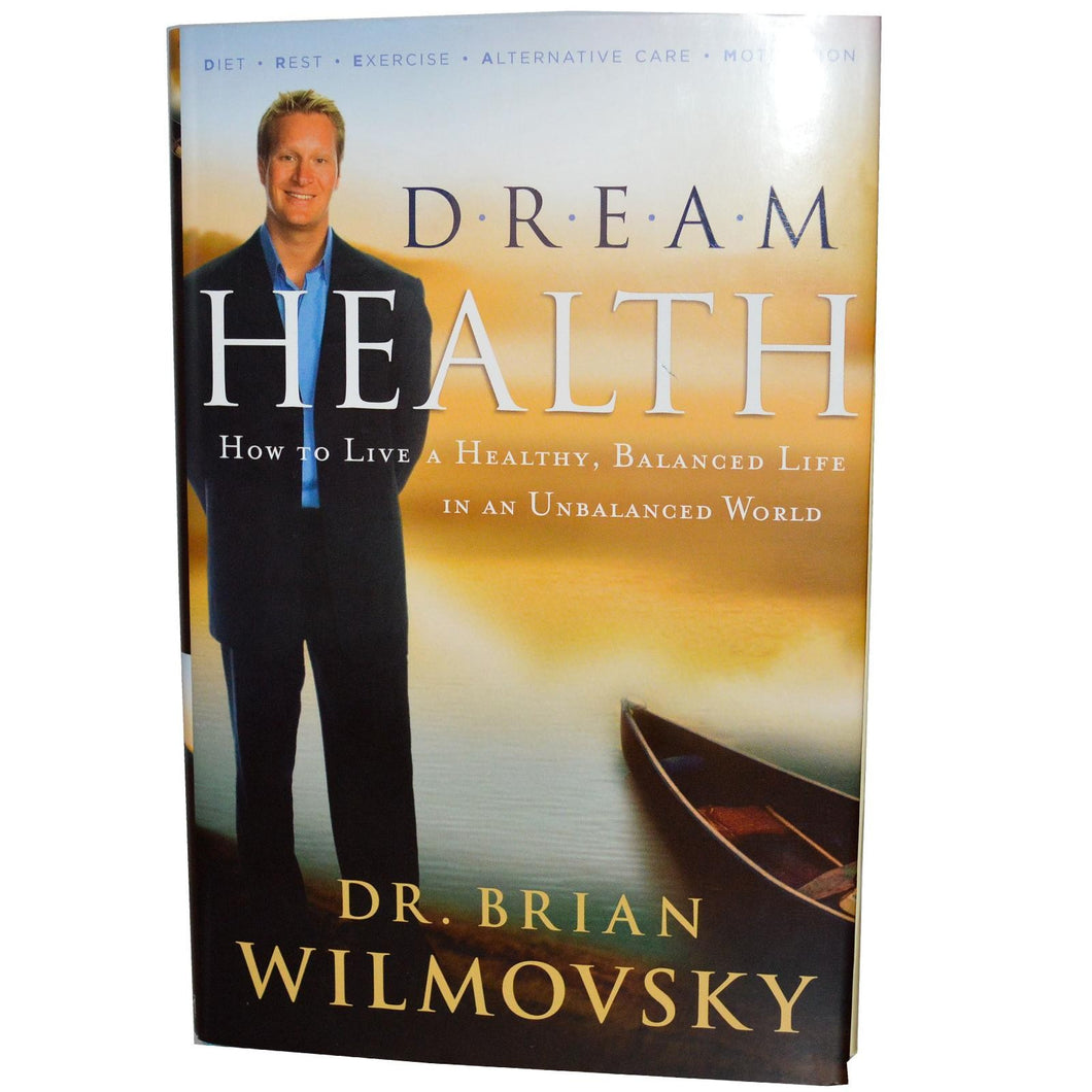 Dream Health Dr. Brian Wilmovsky 210 Pages Hard Cover