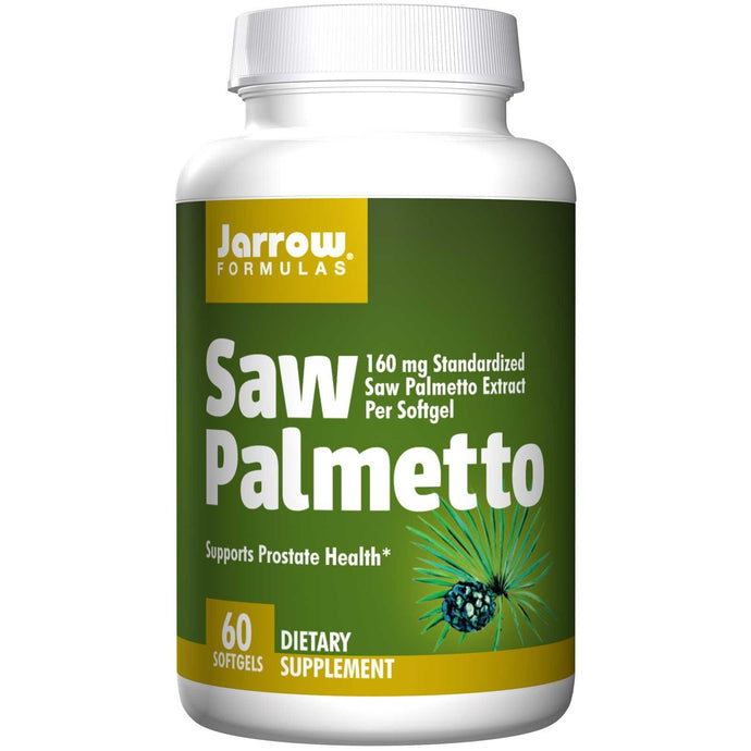 Jarrow Formulas Saw Palmetto 160 mg 60 Softgels - Dietary Supplement
