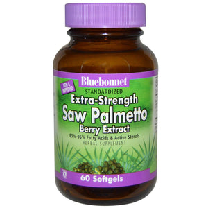 Bluebonnet Nutrition Standardised Extra-Strength Saw Palmetto Berry Extract 60 Softgels
