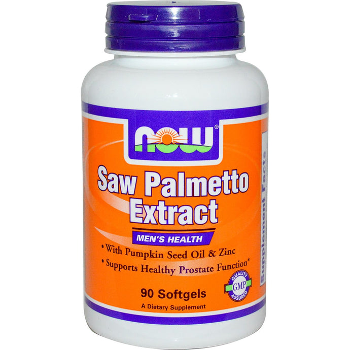 Now Foods Saw Palmetto 90 Softgels - Dietary Supplement