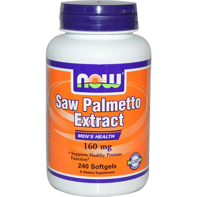Now Foods Saw Palmetto Extract 160 mg 240 Capsules