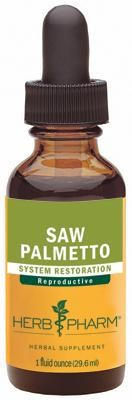 Herb Pharm Saw Palmetto 29.6 ml 1 fl oz - Herbal Supplement