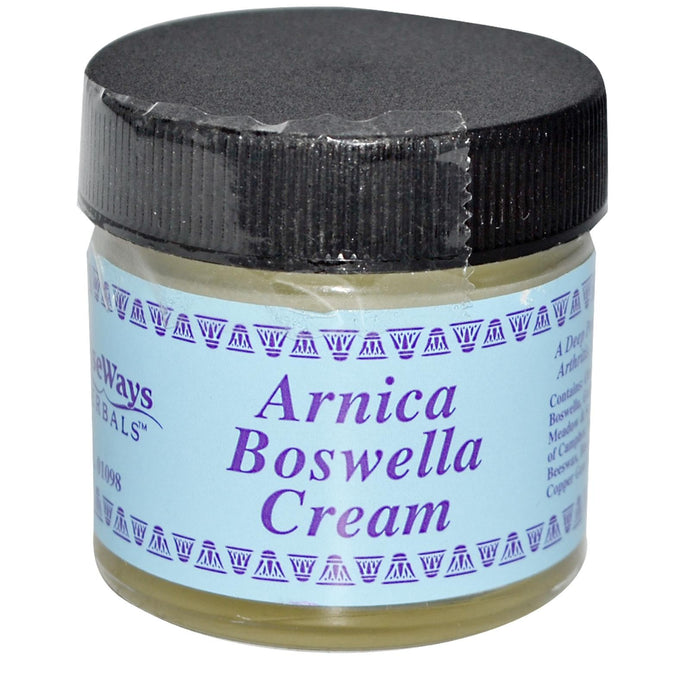 WiseWays Herbals Arnica Boswella Cream 29.6 g 1 oz - Herbal Supplement
