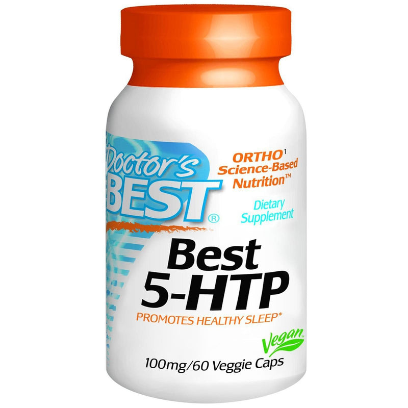 Doctor's Best 5-HTP 100mg 60 VCaps - Dietary Supplement